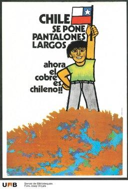 Referencia del Afiche Chileno de los hermanos Larrea